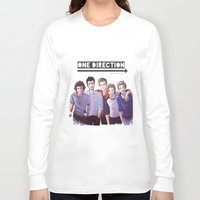 one direction Long Sleeve T-shirts featuring One Direction by Nowhere Little Girl