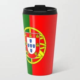 Flag of Portugal Travel Mug