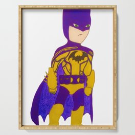 Kid Bat Man Serving Tray