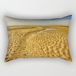 Texel Beach The Trail Rectangular Pillow