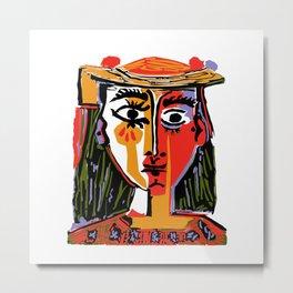 Picasso - Woman's head #4 Metal Print