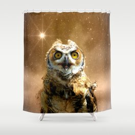 King of space Shower Curtain