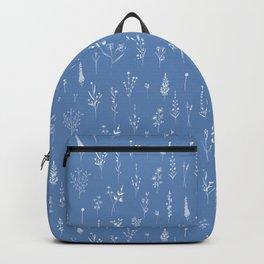 Wildflowers blue Backpack
