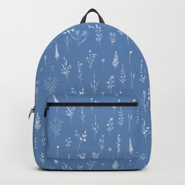 Wildflowers blue Backpack