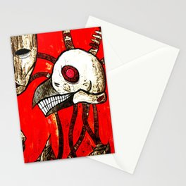 Lost skin Stationery Cards