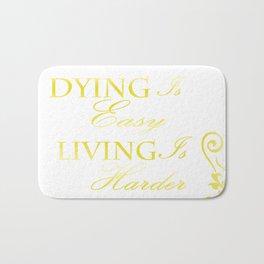 Hamilton: Dying is Easy Bath Mat