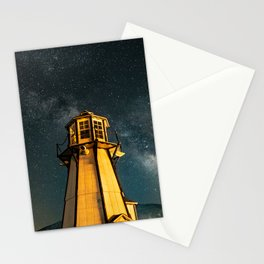 Mountain Light House Two Stationery Cards