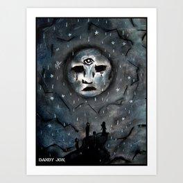 Sad Dream World Art Print