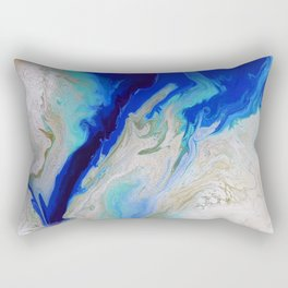 Caribbean Trench Rectangular Pillow