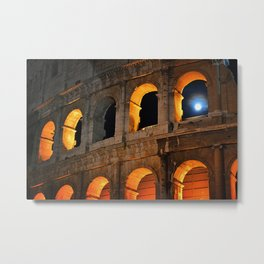 Coliseum Metal Print