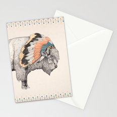 White Bison Stationery Cards