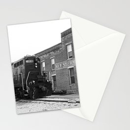 Train and Sherwood Hotel Stationery Cards
