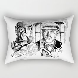 An Inseparable Companion by Peter Melonas Rectangular Pillow