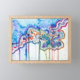 When it Rains Framed Mini Art Print