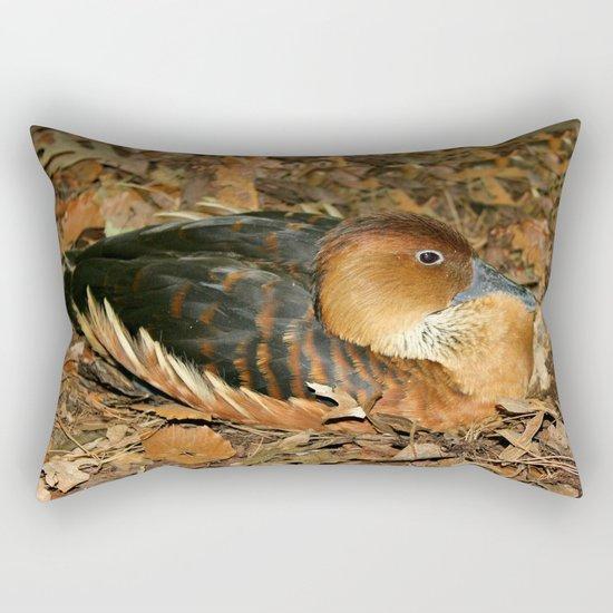 Fulvous Whistling Duck Rectangular Pillow