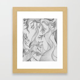 The Serpentine Forest Framed Art Print