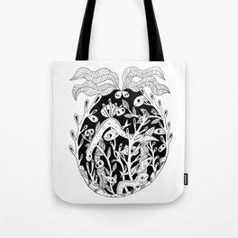 Sea Creature Feature Tote Bag