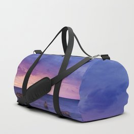 Ocean Beach Dusk Sunset Photography Duffle Bag