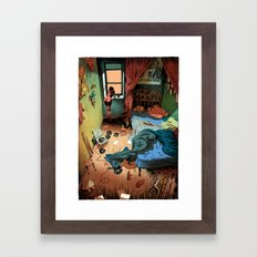 Morning Jazz Room Framed Art Print