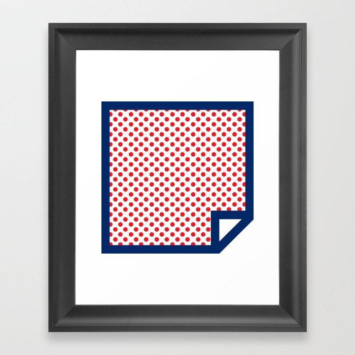 Lichtenswatch - Cold Shoulder Framed Art Print