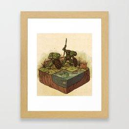 D&D: Bullywugs of the Bog Framed Art Print