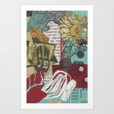 Pey Nun פנ Art Print