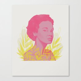 Side Eye Canvas Print