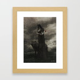 By the Pricking of Her Thumbs Framed Art Print