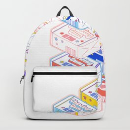 Chewing Gum Pack Backpack