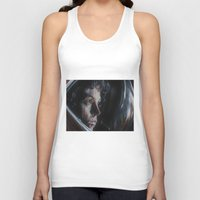ripley Tank Tops featuring Ripley from Aliens by Ashley Anderson