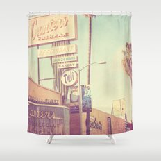 Los Angeles. Canters Deli photograph Shower Curtain