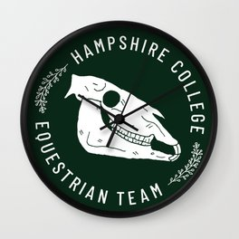 Hampshire Equestrian Wall Clock