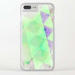 CHEMICALS Clear iPhone Case