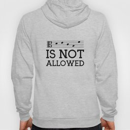 Decaf is not allowed (alto version) Hoody