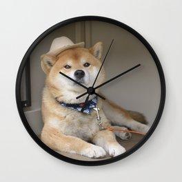 onigiri hunter Wall Clock