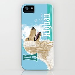 A is for Afghan iPhone Case