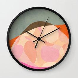 shapes study tartaruga Wall Clock