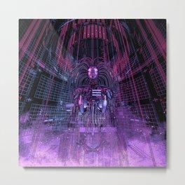 Beryllium Princess Reloaded Metal Print