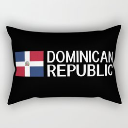 Dominican Republic: Dominican Flag & Dominican Rep Rectangular Pillow