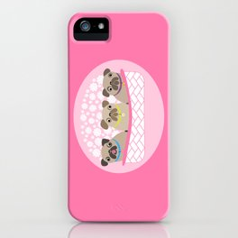 Bouquet of dogs iPhone Case