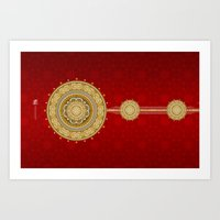 egypt Art Prints featuring Egypt by Zohayma Montañer
