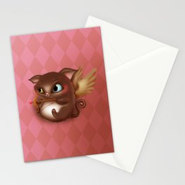 Cupid Kitty Stationery Cards