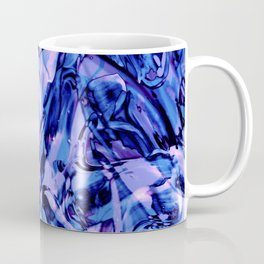 Fluid Painting 3 (Blue Version) Coffee Mug