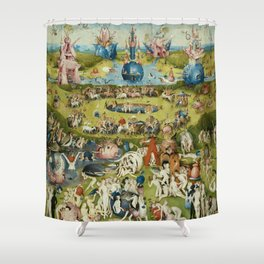 Hieronymus Bosch The Garden Of Earthly Delights Shower Curtain