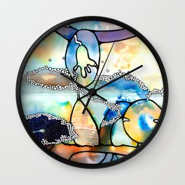 The Spaces In Between Wall Clock