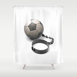 Soccer Prisoner Shower Curtain