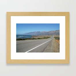 Big Sur Highway Framed Art Print