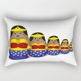 Russian Nesting Dolls Rectangular Pillow