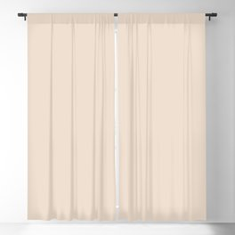 Boca Solid Shades - Almond Blackout Curtain