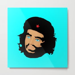Ken Doll as Che Guevara! Cool Pop Art! Metal Print
